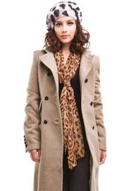 满300减100冬季新品 正品太平鸟复古长款呢大衣MD1157074